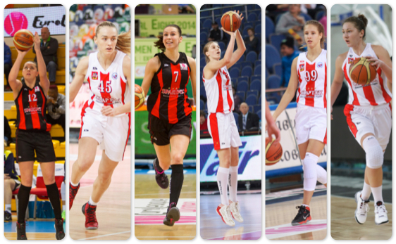 7 баскетболисток из МО - в сборной России